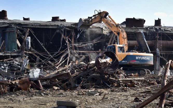 На промышленных территориях Норильска собрали 73 000 тонн мусора